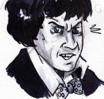Angry Troughton by AlixPaugam