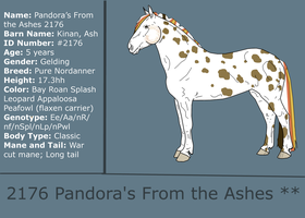 2176 Pandora's From the Ashes ** by Starcather9