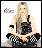 Avril Lavigne Vector by Lullipops