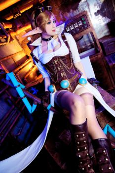 League of Legends - Hextech Janna by TENinania