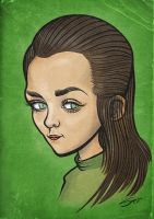Game of Thrones - Arya Stark by LaserDatsun