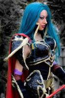 Cosplay Fire Emblem- Petrine by Daelyth