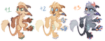 Anthro vernid adoptables FLATSALE by LiLaiRa