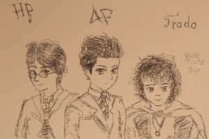 RQST: Harry Potter + Artemis Fowl + Frodo Baggins by 7yashka7