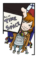 That is How a Whovian Do by ChrysophylaxCreates