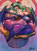 More Morrigan Purumpuu by TheAmericanDream