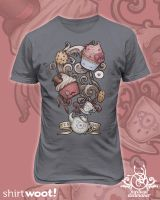 TeaTime in Shirt Woot! by Medusa-Dollmaker