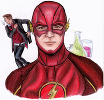CW's The Flash by randomtenso
