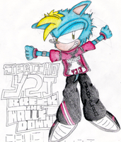 Jericho The Hedgehog by RageTheHedgehog