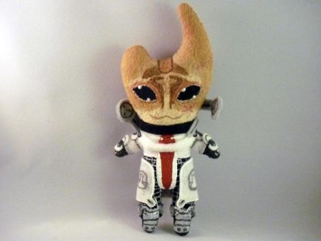 Plushie Mordin by Pinka-Starlight