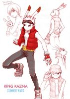 SW_king kazma sketch by V-Sil