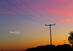 Colorful Sunset. by CryingSoulGirl