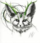 Guardian of Nature - sketch by Schoerie
