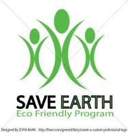 SAVE EARTH LOGO by Greeniiishfairy