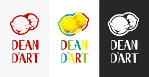 dean d'art logo by Godling-Studio