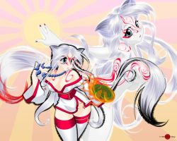 Okami and Shiranui by HoiHoiSan