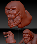 Dead Hand 3D by Spiked-Fox
