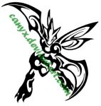 Scyther Tribal COMMISSION by Canyx