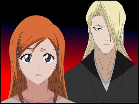 Kira and orihime by Darrajunior