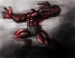DSC Red Hulk by PioPauloSantana