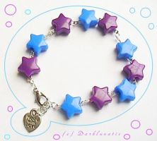 shiny stars chain by neko-crafts