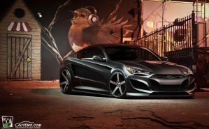 Genesis Coupe - Autemo BPC Round 1 by RDJDesign