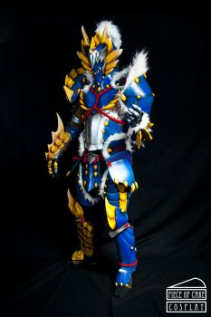 Zinogre Armor Monster Hunter 01 by Dewbunch