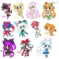 Animal Chibi Adoptables ( CLOSED~) by StarryStellary