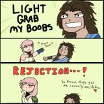 Lightning x Fang - Rejection by Moose15