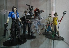 FF8 Display Cabinet by neoarchangemon