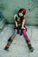 Injustice Harley Quinn: Sad Little Clown Doll by kay-sama