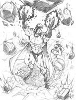 Magneto commission pencils by JoeyVazquez