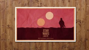 Star Wars A New Hope - Minimalist by JSWoodhams
