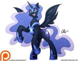 :Patreon Commission: Nightmare Moon by NekoCrispy