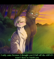 On a Cliff at Dusk by RiverSpirit456