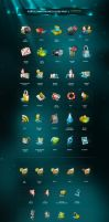 portal random dock icons part2 by antialiasfactory