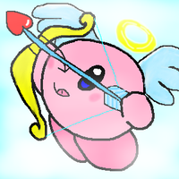 Request-Cupid Kirby by Kirby-4-ever