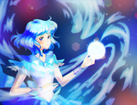 attack sailor sea wave by Lia-tomoe