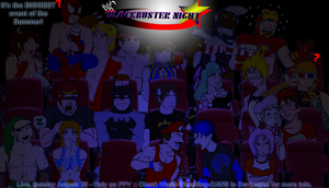 BlockBuster Night 2011 Poster by 2ndCityCrusader