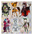 CLOSED: HALLOW'S EVE ADOPTABLE AUCTION by Lolisoup