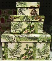 Christmas Present Box Stack by SweetSoulSister