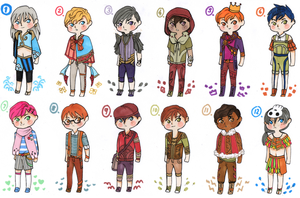 New Adopts !! -OPEN! by adjoAdopts