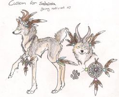Custom for Salainia by Crazywolfs