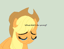 Where are all the AppleJack fans? by Meadow-Leaf