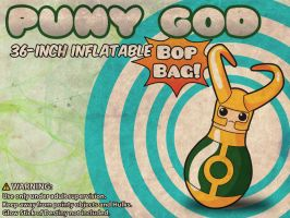 Loki Puny God Bop Bag by rycz