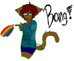 .:OC - Cameron the brown cat:. by Cheyinator
