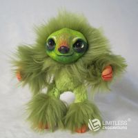 Green Mini Sloth by LimitlessEndeavours
