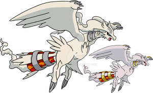 643 - Reshiram - art v.2 by Tails19950