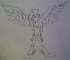 Danny Phantom Angel by Jocy-007