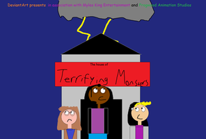 The House of Terrifying Monsters title card by mylesterlucky7